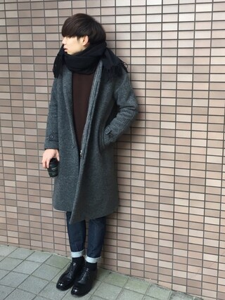 Ryoさんの「畦ニットプルオーバー(UNITED TOKYO|ユナイテッドトウキョウ)」を使ったコーディネート