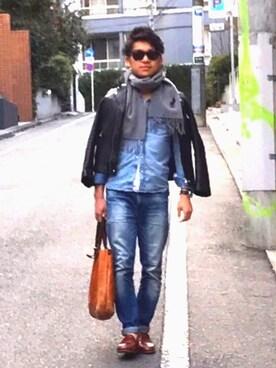 teruさんの(STUDIOUS|ステュディオス)を使ったコーディネート