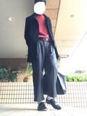 Kazuさんの「O-NINE/オーナイン プレーントゥダンスシューズ(O-NINE|オーナイン)」を使ったコーディネート