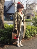 ♡ai♡さんの「WOMEN ミラノリブカットソージョガーパンツ(ユニクロ|ユニクロ)」を使ったコーディネート