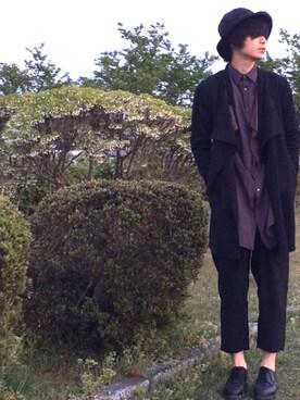 Jinyaさんの(KIJIMA TAKAYUKI|キジマ タカユキ)を使ったコーディネート