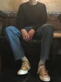 ほりさんの「Converse 1970s Chuck Taylor All Star Canvas Sneakers(Converse|コンバース)」を使ったコーディネート