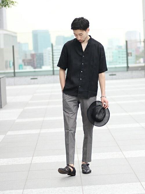 松木さんの「◇FANCTION MOBILE PANTS(EDIFICE)」を使ったコーディネート