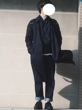 じゅんじゅんさんの(Onitsuka Tiger × ANDREA POMPILIO|オニツカタイガー アンドレアポンピリオ)を使ったコーディネート