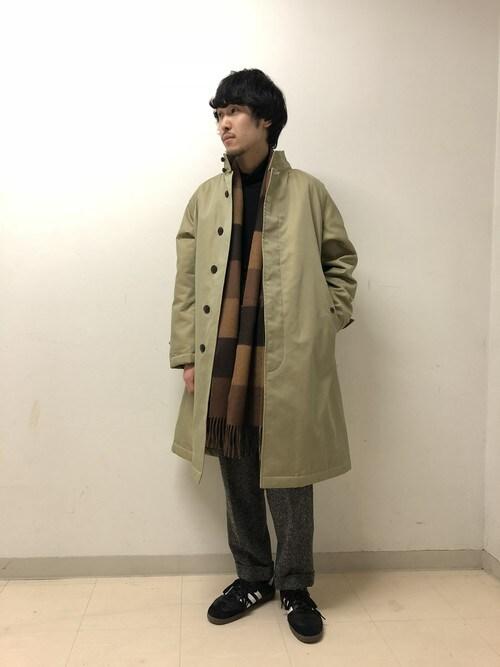 Bshop 新宿ルミネ店HASHIMOTOさんのその他アウター「【Gymphlex】スウィングコート MEN(GYMPHLEX|ジムフレックス)」を使ったコーディネート