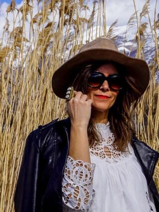 「Anthropologie Vegan Leather Moto Jacket(Anthropologie)」 using this Carla  looks