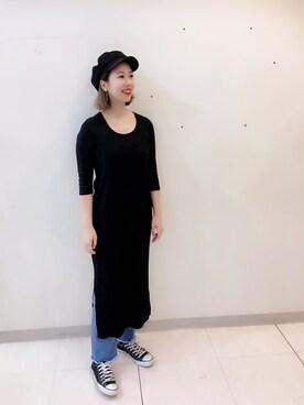 AVANCE 高円寺店|ayumiさんの(BLACK BY MOUSSY|ブラックバイマウジー)を使ったコーディネート
