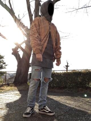 「自作(H&M)」 using this dai looks