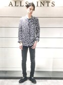 「PANTHER LS SHIRT(ALLSAINTS)」 using this Hiro looks
