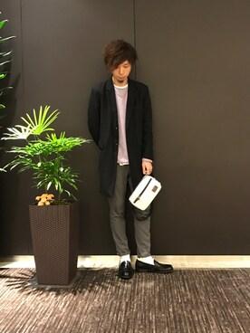 JUNRed グランフロント大阪|shioさんの(JUNRed|ジュンレッド)を使ったコーディネート