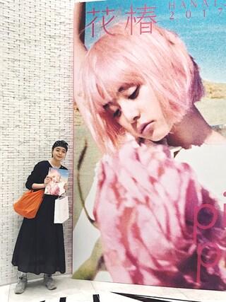 Kanocoさんの「プリーツマキシワンピース(Atelier mimi|アトリエ ミミ)」を使ったコーディネート