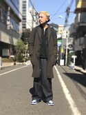Yusuke Tanakaさんの「強燃ニット長袖ジップポロ(CIAOPANIC TYPY|チャオパニックティピー)」を使ったコーディネート