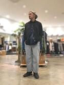 Yusuke Tanakaさんの「ペーパーライクビッグシャツ(CIAOPANIC TYPY|チャオパニックティピー)」を使ったコーディネート