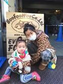 SENAさんの「BABYパンツ カエル(BOOFOOWOO|ブーフーウー)」を使ったコーディネート