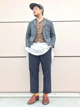 45R 宇都宮店|渡辺 翼さんの(KIJIMA TAKAYUKI|キジマ タカユキ)を使ったコーディネート