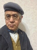 しまうまおじさん is wearing Django Atour