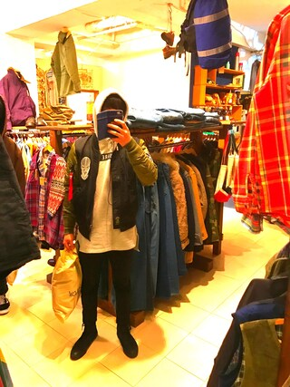 (Alpha Industries) using this らいき looks