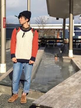 山田和俊さんの(OJISUN|オジサン)を使ったコーディネート