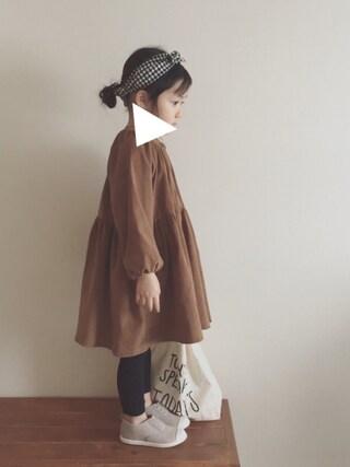 nicomicoさんの「ミニマルシェバッグ / Mini Marche Bag(CIBONE|シボネ)」を使ったコーディネート