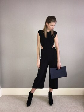 (ZARA WOMAN) using this amy looks