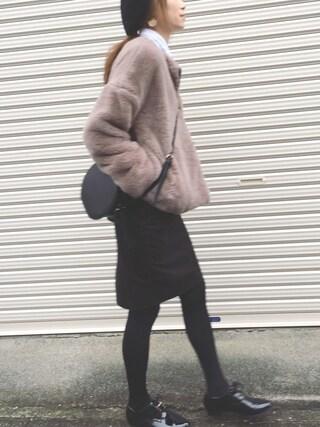 Sato*さんの「メタルパーツレースアップシューズ(mysty woman|ミスティウーマン)」を使ったコーディネート