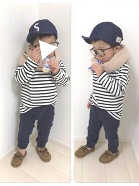 yutoさんの(babyGAP|babyGAP)を使ったコーディネート