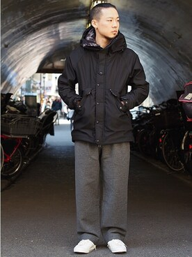 Revelations/|Hikimaさんの「narifuri NF836 Back boa field jacket(Revelations/|レベレーションズ)」を使ったコーディネート