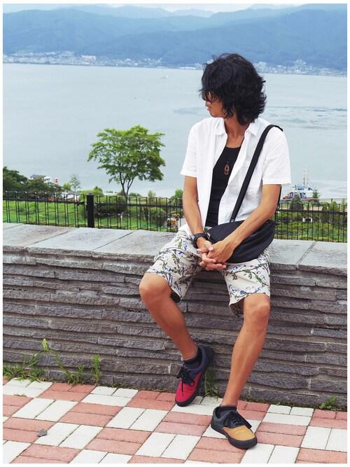 27度の服装:半袖シャツ・長袖シャツ 画像1