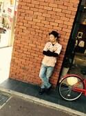 TAKAさんの「00SU1X0857F(DIESEL|ディーゼル)」を使ったコーディネート