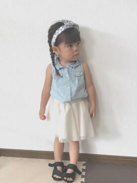 shiina♡♡さんの「Gap Tulle Flippy Skirt(GAP|ギャップ)」を使ったコーディネート