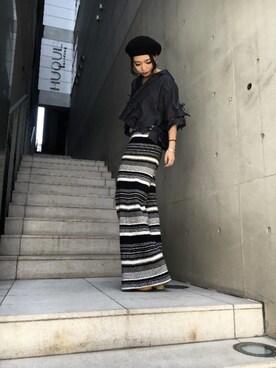 ROYAL FLASH 南船場 yurina katsuraさんの(FACETASM ファセッタズム)を使ったコーディネート
