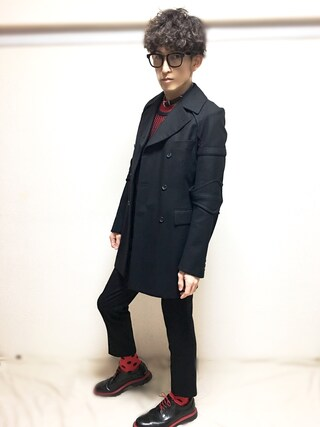 (COMME des GARCONS) using this nabeshinya looks