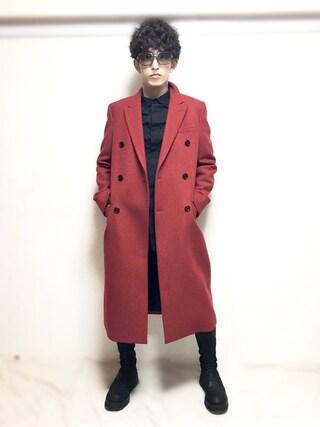 (Dior homme) using this nabeshinya looks