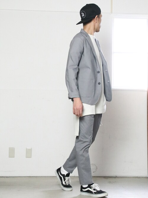 Nishinaさんの「馬布ストレッチ2Bテーラードジャケット【MADE IN JAPAN】『日本製』【送料無料】 / Upscape Audience【予約販売・5月上旬頃入荷】 [AUD2776](Audience)」を使ったコーディネート