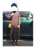 ちくわさんさんの「オリジナル お財布ミニショルダー【niko and ...】(niko and...|ニコアンド)」を使ったコーディネート