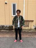 masamune watoさんの「SUNGLASSES-E(GDC ジーディーシー)」を使ったコーディネート