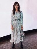 「Zimmermann Arcadia paisley-print silk-chiffon gown(Zimmermann)」 using this Thania Peck looks