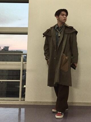 56chanさんの「LEVI'S VINTAGE CLOTHING-1960s シャンブレーシャツ/ニューリンス(501|ゴーマルイチ)」を使ったコーディネート