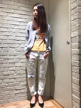 HYSTERIC GLAMOUR横浜ジョイナス店|kimuさんの(HYSTERIC GLAMOUR|ヒステリックグラマー)を使ったコーディネート