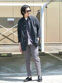 Taniさんの「DOORS C/L Utility Shirts Coat(URBAN RESEARCH DOORS MENS|アーバンリサーチ ドアーズ メンズ)」を使ったコーディネート