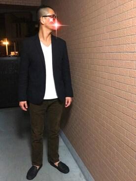 rintosaku papaさんの(ユニクロ|ユニクロ)を使ったコーディネート