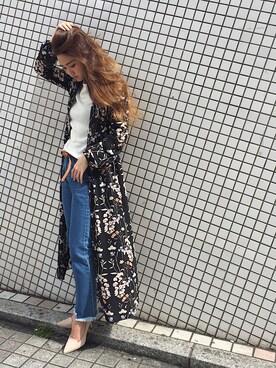 UNRELISH 広島PARCO店|ishida_meiさんの「フレア袖ニット(UNRELISH)」を使ったコーディネート