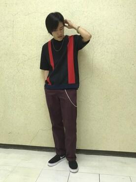 JUNRed 泉北髙島屋|Ryotaさんの(JUNRed|ジュンレッド)を使ったコーディネート
