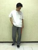 Ryotaさんの「ダブルチェーンブレスレット(JUNRed|ジュンレッド)」を使ったコーディネート