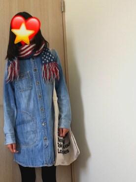 Yuko))さんの(American Apparel|アメリカンアパレル)を使ったコーディネート