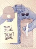 すずきちさんの「マルシェバッグ / Marche Bag(TODAY'S SPECIAL|トゥデイズスペシャル)」を使ったコーディネート