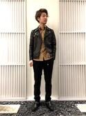 naoki shibataさんの「カウダブルライダース(UNITED TOKYO ユナイテッドトウキョウ)」を使ったコーディネート