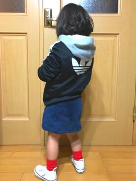 misakiさんの(adidas|アディダス)を使ったコーディネート