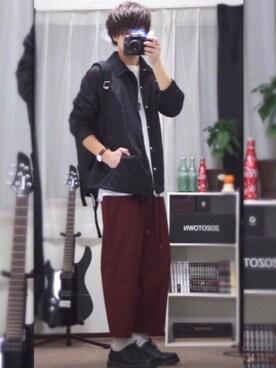 JUN:re ⍟さんの(Champion チャンピオン)を使ったコーディネート