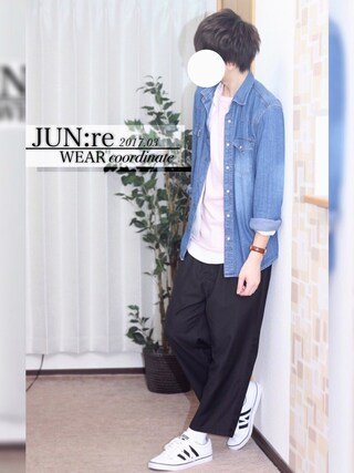 「サテンカイキンシャツ(HARE)(HARE)」 using this JUN:re ⍟ looks